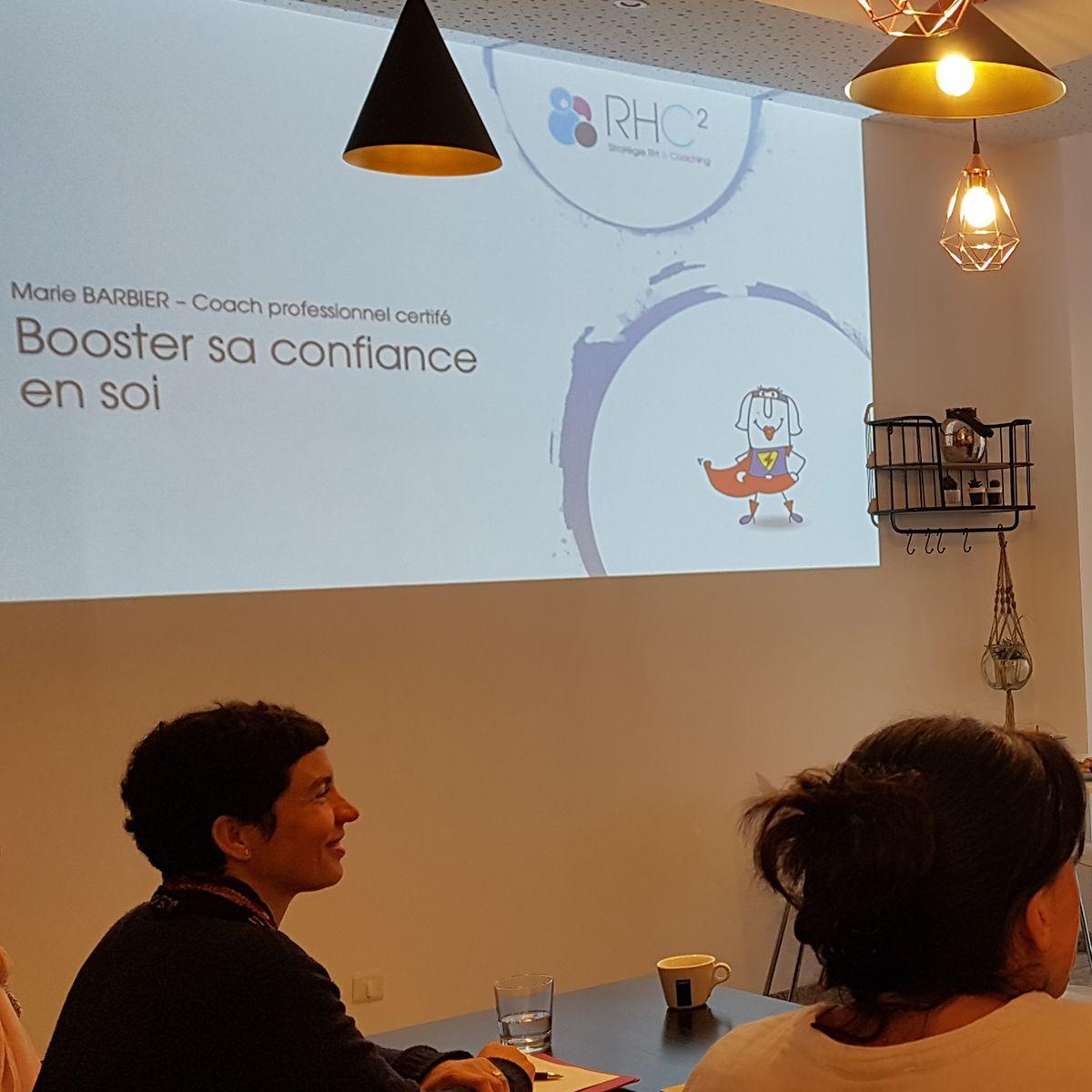 Atelier confiance en soi par Marie Barbier de RHC2 à Saint-Malo