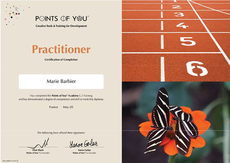 """Nouvelle certification """"formatrice Points of You®"""""""